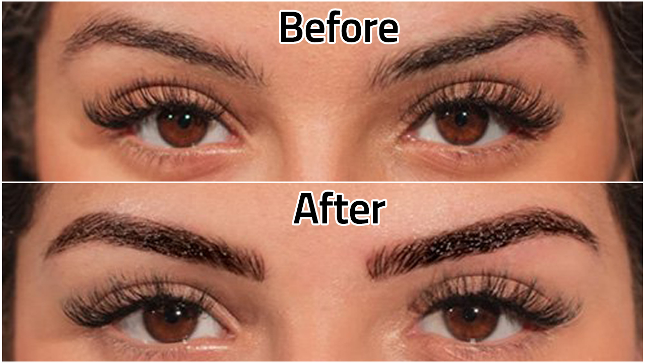 Microblading Before After Photo Gallery